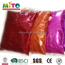 High quality customized bulk glitter 1kg for handicraft