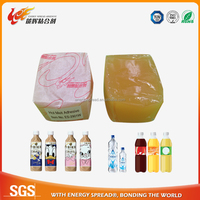 factory directly sell best hot melt adhesive glue for plastic bottle labeling