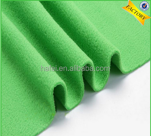Latest popular hot sale high quality soft polar fleece fabric