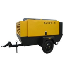 Diesel engine screw type Air Compressor for mining KG330L-8