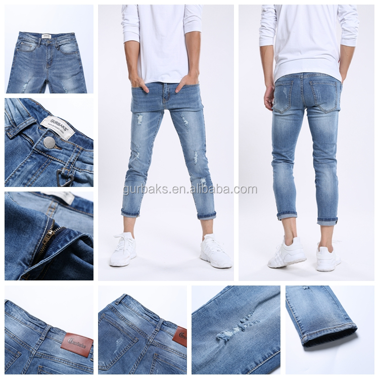 New Trend Style Promotional Prices Man Denim Jean