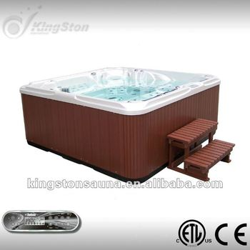 Outdoor Balboa Spa Hot Tub With Salt Water System View