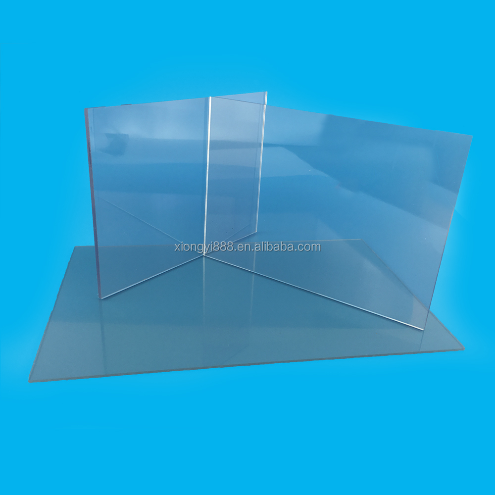 High quality solid flat pc sheet/ polycarbonate sheet for greenhouse covering