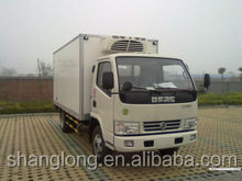 dongfeng LHD 7ton lorry refrigerator van truck
