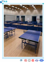 table tennis flooring sports flooring made in China waterstone design vinyl tile/pvc plank/plastic flooring