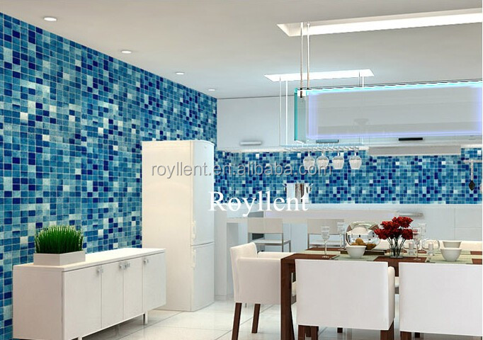 Indoor PVC Mosaic Design PVC Self-adhesive Wallpaper for Home Decoration