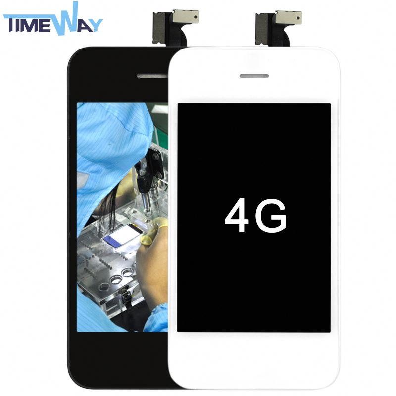 China Factory Cheap for iphone 4 housing front digitizer+lcd + back co