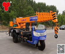 Tricycle Telescopic Boom 3 Ton Small Truck Cranes