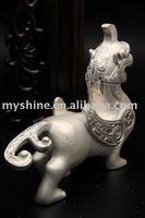 Silver artistic handicraft with Chinese folk art silver craft