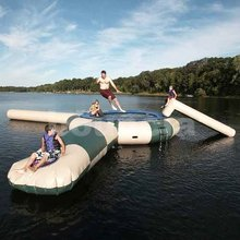 Inflatable Water Blob Trampoline For Lake