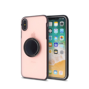 Fashion 360 Rotating Metal Kickstand Smartphone Case for iPhone X