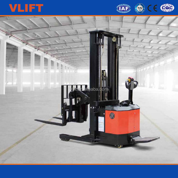 1.5 Ton Scissor Type Electric Reach Stacker lifting height 4500mm