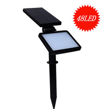 SL-50C 48 LED Super Bright Adjustable Anglefor out door Solar Wall Light Lawn Light