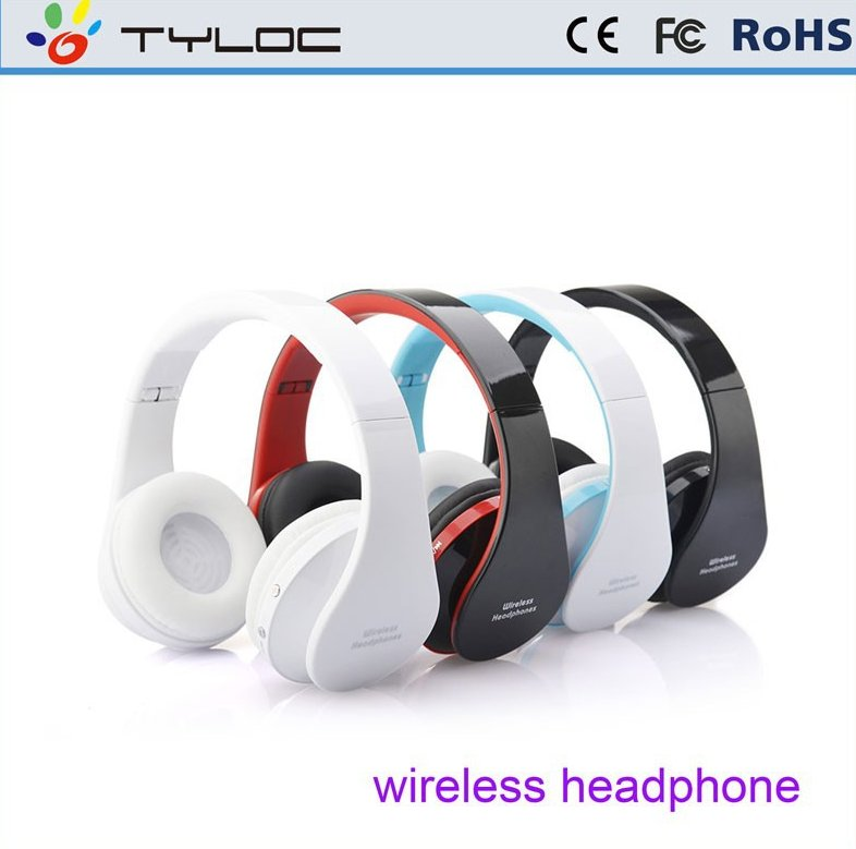2016 Wholesale Stereo Bluetooth v4.0 Headset , Bluetooth Headphone without wire