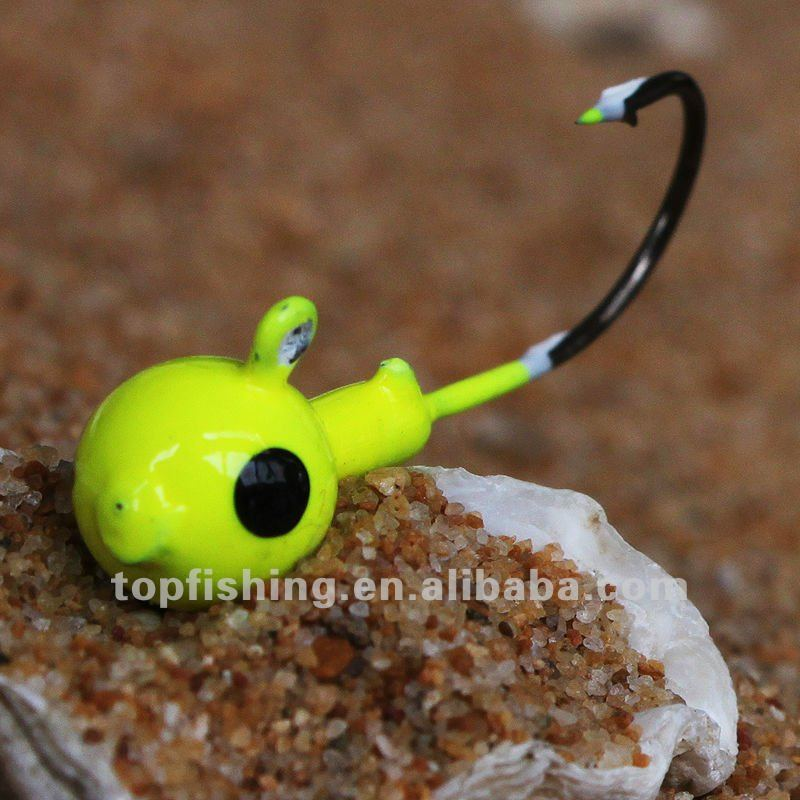 3.5g/Top fishing/ Jig head/ classical series-metal lures/4pcs/beard/ hard fishing lure/loctilucent
