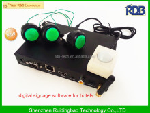 RDB 2014 New product digital signage software for hotels China supplier