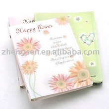 2012 new design PP cover spiral notebook