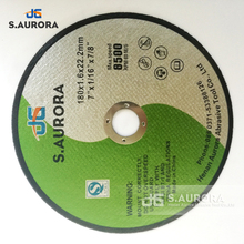 Aurora metal and stainless steel abrasive Cutting Disc
