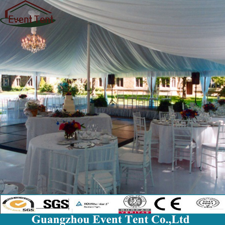 Promotional garden party marquee