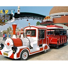 electric tourist train for sale/sightseeing train/cartoon road train for sale