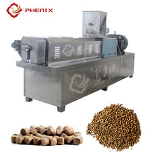 floating tropical fish feed pellet twin screw extruder machine