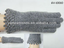 2013 Elegent grey beauty edge winter glove