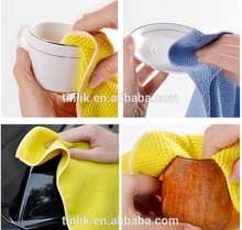 30*30CM Great Pearl Cheap Microfiber Antibacterial Kitchen Dish Cleaning Cloth