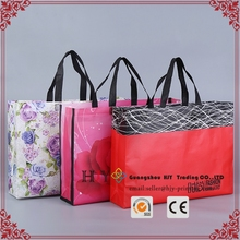 custom wholesale laminated non-woven gift bag tote non woven shopping