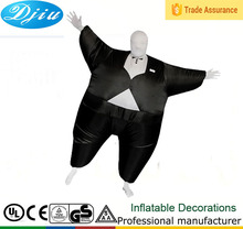 Inflatable party dresses for fat girl Funny Halloween Costumes Black western party wear dresses