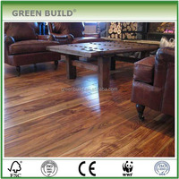 T and G Stained Wood Floor Min Order300 Square Meters