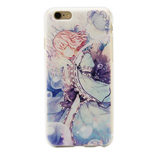 Printable sublimation product color painting mobile phone case wholesale best price supplier For iphone 6