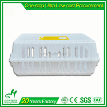 Poultry Farming Equipment Large Design Plastic Cage For Transport Chicken