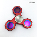 Colorful Metal Craft Top Pro Tri-Spinner, High Speed Hand fidget Spinner