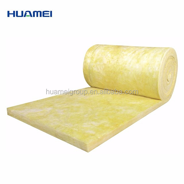 heat resistant prefabricated homes soundproof glass wool insulation