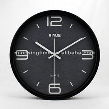 black round designer wall clocks for school room,GYM room,Hopstial,Army,office and Home Useing