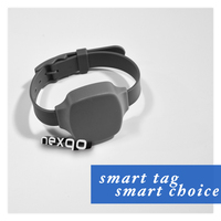 2.45 GHz RFID Active Tag Wristband/bracelet Type