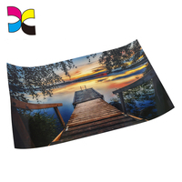 Matte file laminated finished Custom A1 A2 size poster printing