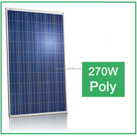 High Efficiency and Good Price 270W poly Solar Panel price/ Solar panels for home use
