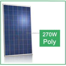 High Efficiency and Good Quality 270W poly Solar Panel / Solar moudles for home use