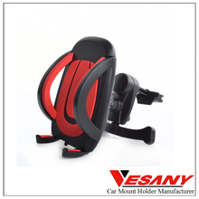 Vesany 2016 New Phone Accessories high-class custom logo good quality reusable stable rotating air vent car mount holder