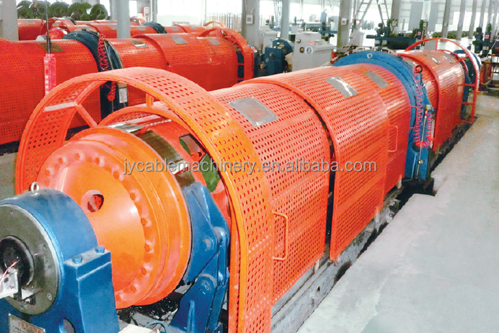 Copper/Aluminum/Steel Wire Tubular Stranding Machine, Cable Making Machine