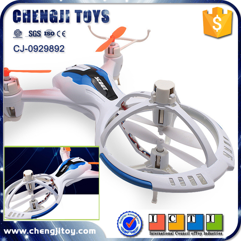 4 channel 2.4G remote control electronic drone helicopter