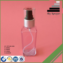 upgrade luxury packaging compressed air water mist spray bottle
