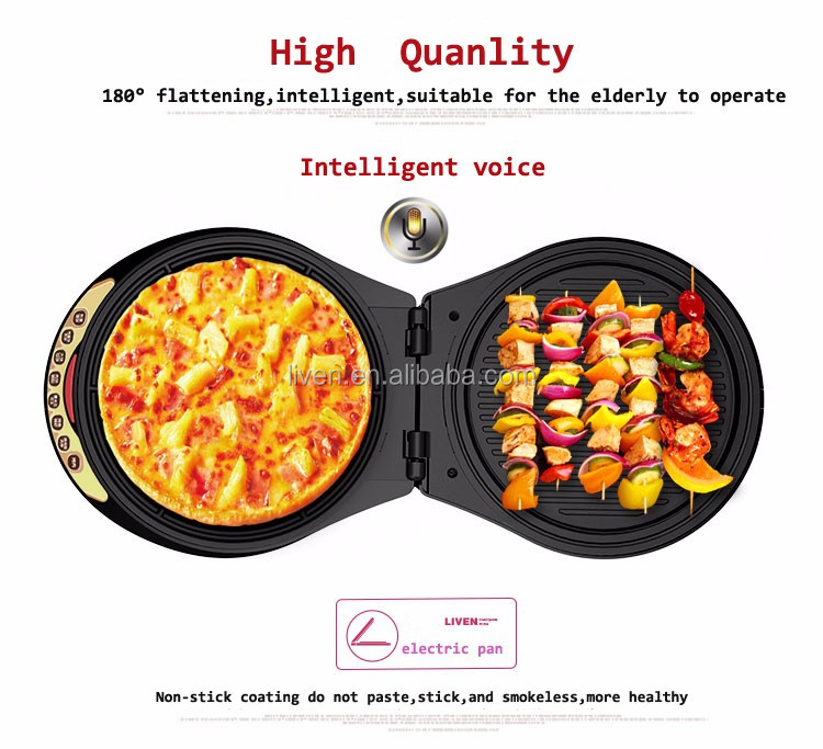 LR-A434 electric pizza maker Heating hot Plate