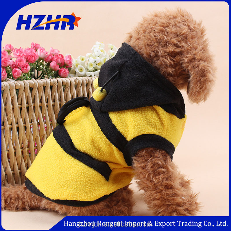 Puppy cute bee pet clothes small dog pet clothing dog apparel