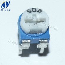 RM065 micro potentiometer blue white 502 5k