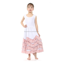 New Fashion Girls Tank Long Dress Angel Style children frocks designs Wholesale
