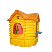 Children safe design fun games plastic eco-friendly playhouse indoor playhouses kids toy