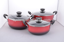 Pressed Aluminium Non-stick large commercial cooking pots