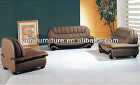 2013 New Europe Moden Simple Top Grain Leather sofa mart furniture and Chair Set italian sofa 613-17